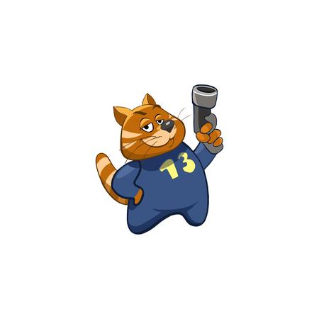 smug: Cartoon Character. Emotion: Smug guy with a gun