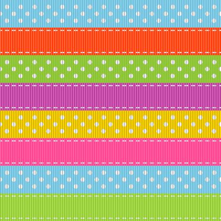 Stripped seamless pattern