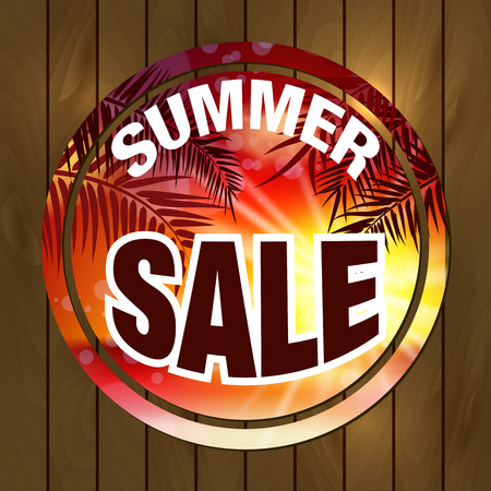 sticker: Summer Sale Sticker. Discount Sale Sticker. Big Summer Sale Sticker. Summer Sale Banner. Special Sale Sticker.