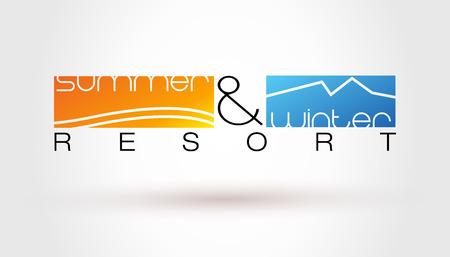 resort: Resort Illustration