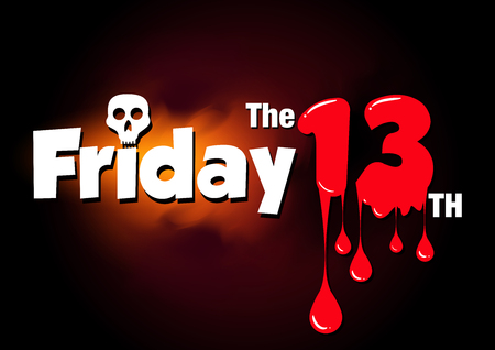 freaked out: Friday the 13th vector banner