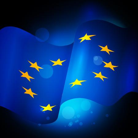 europa: European Union Waving Flag , EU flag.