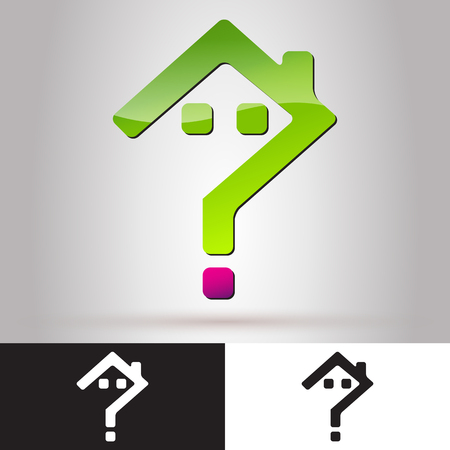 homeowner: for Real Estate Business. House Question Mark. Development .