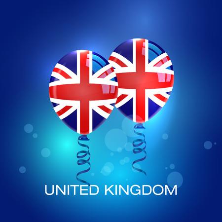 bandera de gran breta�a: Globos del Reino Unido bandera. Reino Unido Bandera. Gran bandera de Gran Breta�a. Refer�ndum Reino Unido.