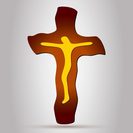 pasqua cristiana: Gesù Cristo sulla croce. Cristian Croce. Crocifisso. Croce cattolica. Gesù Croce.