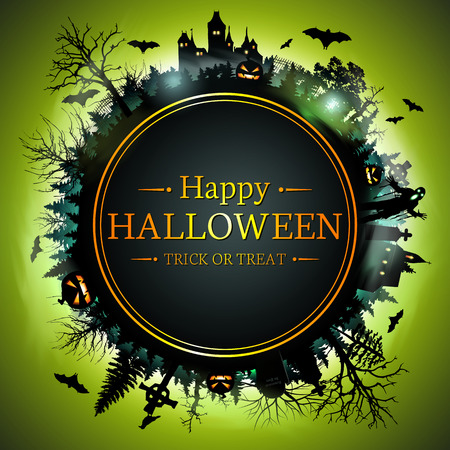 halloween background: Halloween Background. Happy Halloween.