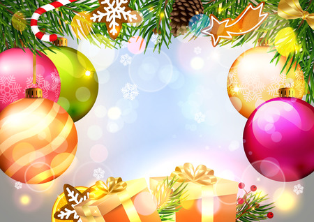 Luxury Christmas Background.