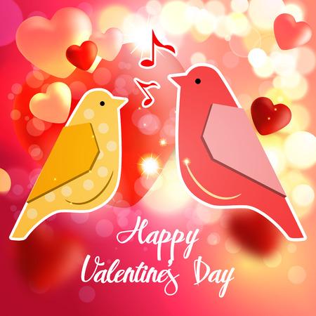 Valentines greetings card