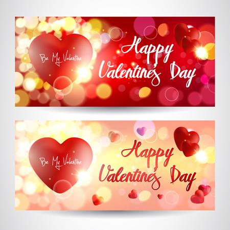 Valentines greetings cards
