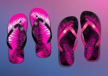 Flip Flops Vector illustration.
