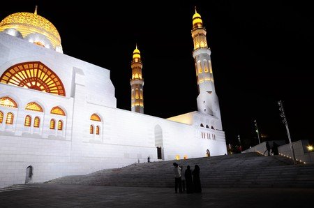 mohammed: Mohammed Al Ameen Mosque in Muscat, Oman