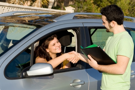 examiner: new car, hire or rental