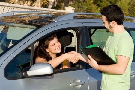 new car, hire or rental