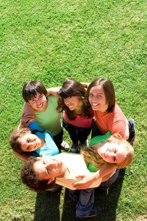 diverse group of teenagers Stock Photo - 2664600
