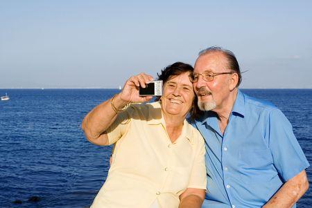seniors on vacation Stock Photo - 2658933