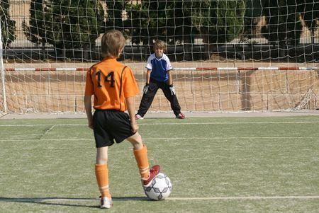 joueurs de foot: football ou de soccer joueurs  Banque d'images