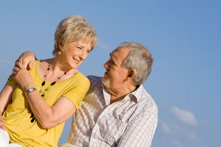 loving senior couple Stock Photo - 2659045