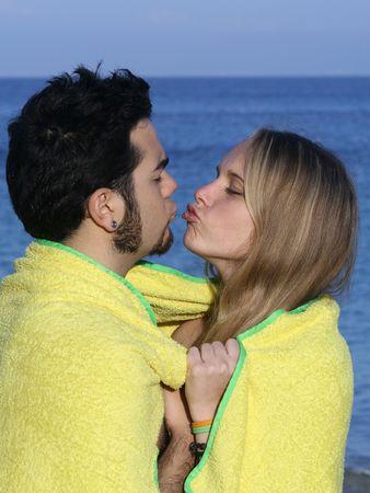 puckering lips: holiday romance