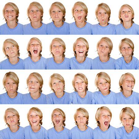 expression facial: multi facial expressions