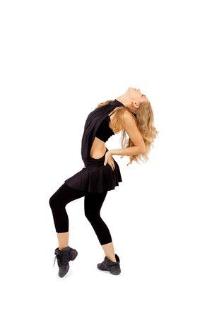 woman dancing photo