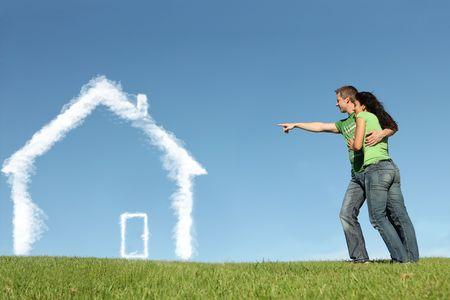 concetto per primo o nuova casa