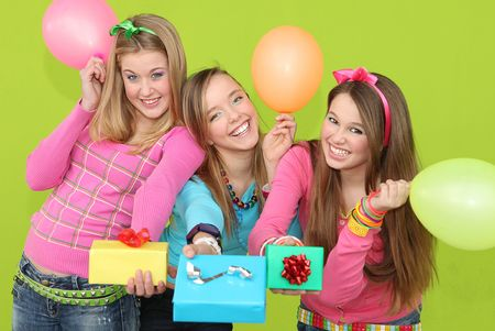 teens party Stock Photo - 7189260