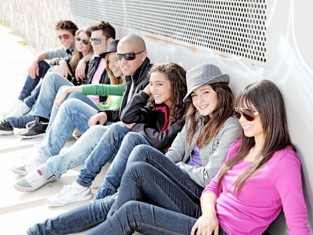 group of students Stock Photo - 7159806