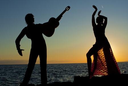 spanish dancers in spain photo