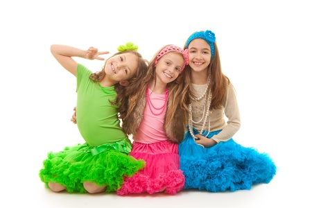 Kleine meisjes met perfecte tanden Stockfoto - 18200473