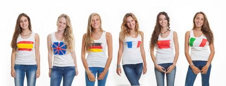 studens: international language school students Stock Photo