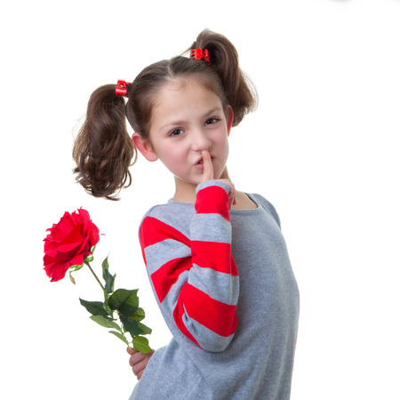 mothering: valentine or mothers day gift of red rose