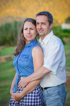 early pregnancy: happy couple early pregnany photo Stock Photo