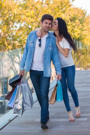 women in jeans: people on holiday in Palma de Mallorca Spain