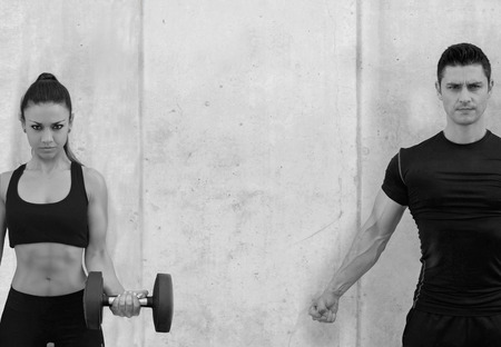 athletes, personal trainers, strong, healthy people