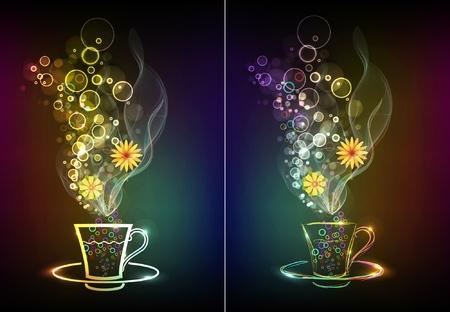 Vector cup Vector