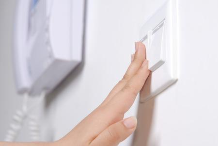 interphone: Light switches