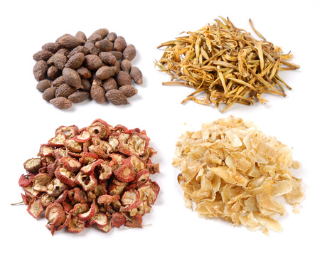 eastern medicine treatment: traditional Chinese medicinal materials