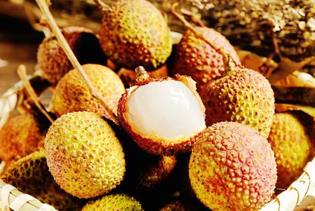leechee: Fresh lychee
