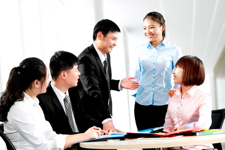 china people: The company\