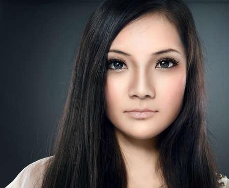 model face: Glamour Woman Portrait.
