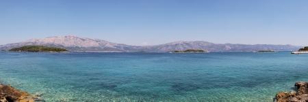 a bathing place: Bathing place in Lumbarda, on the island of Korcula, Kroatia
