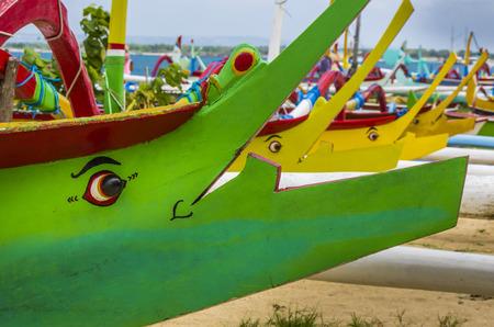 sanur: Boats at Sanur beach