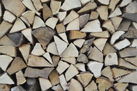 billets of wood Stok Fotoğraf