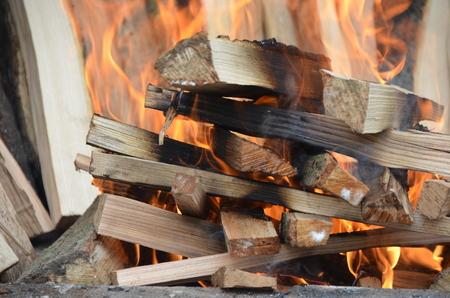 burning fireplace Stok Fotoğraf - 101545132