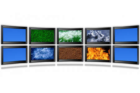Four elements of the nature photo