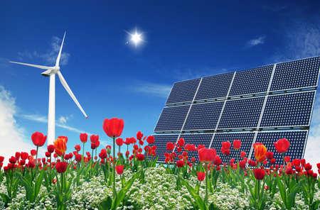 energies: Clean energies Stock Photo