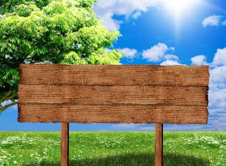 Empty wood frame Stock Photo - 5500835