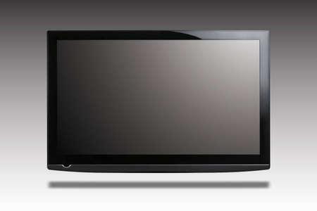 Flat monitor Stock Photo