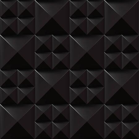Trendy Seamless Rivet Pattern, Black