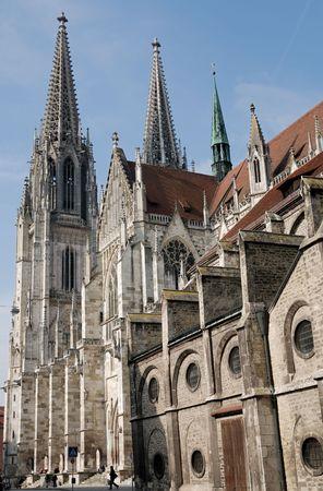 regensburg: Cathedral of Regensburg (Germany, Bavaria)